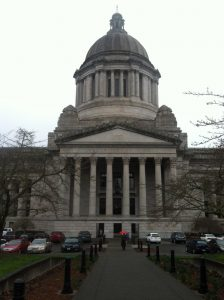 At Washington State Capitol in Olympia last week (photo by Nick Thomas)