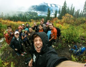 EWU students take EPIC adventure to hotsprings (Austin Marvel photo, Instagram @austinmarvels)