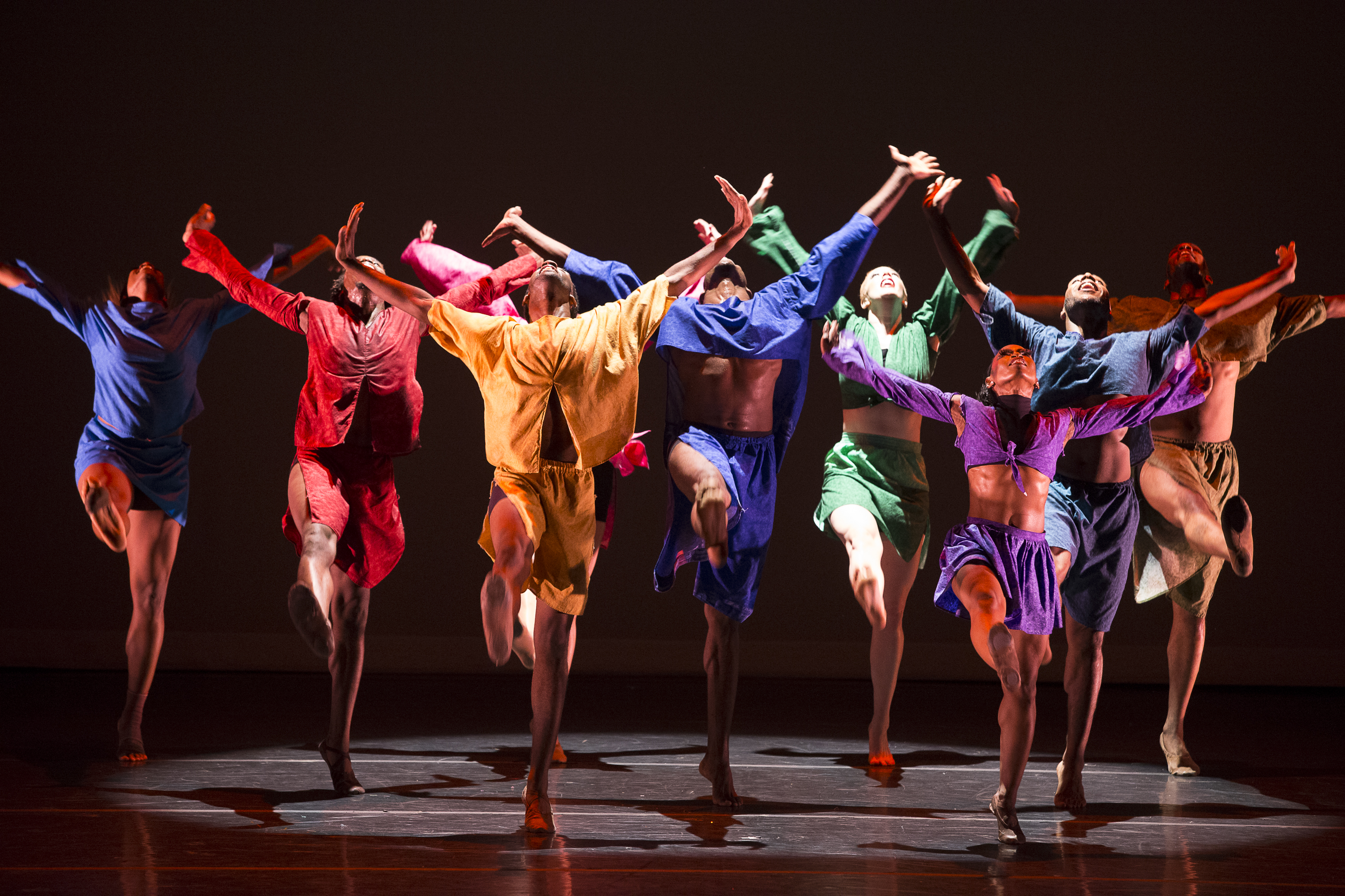 Striking Image of dancers to grab attention