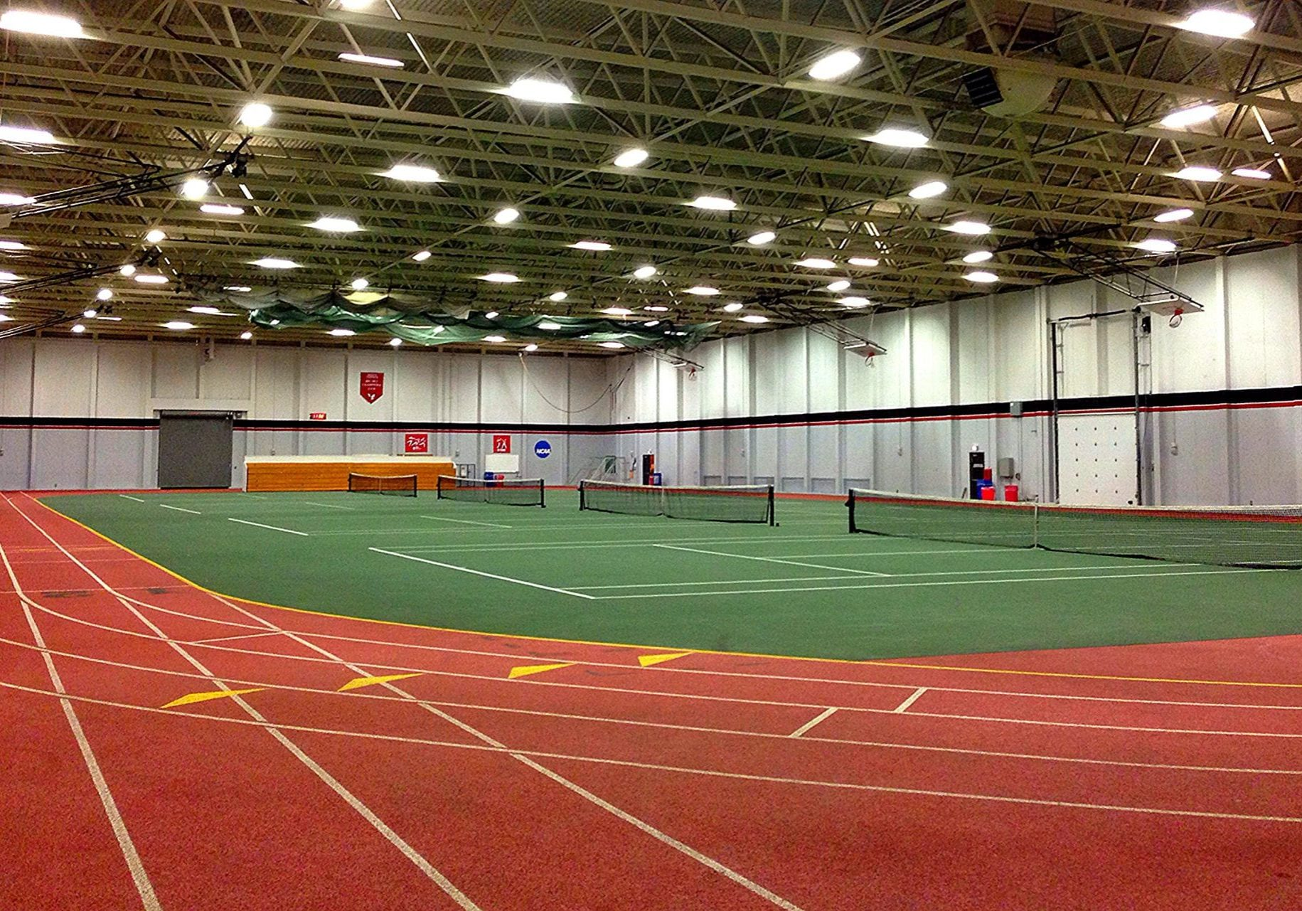 the fieldhouse