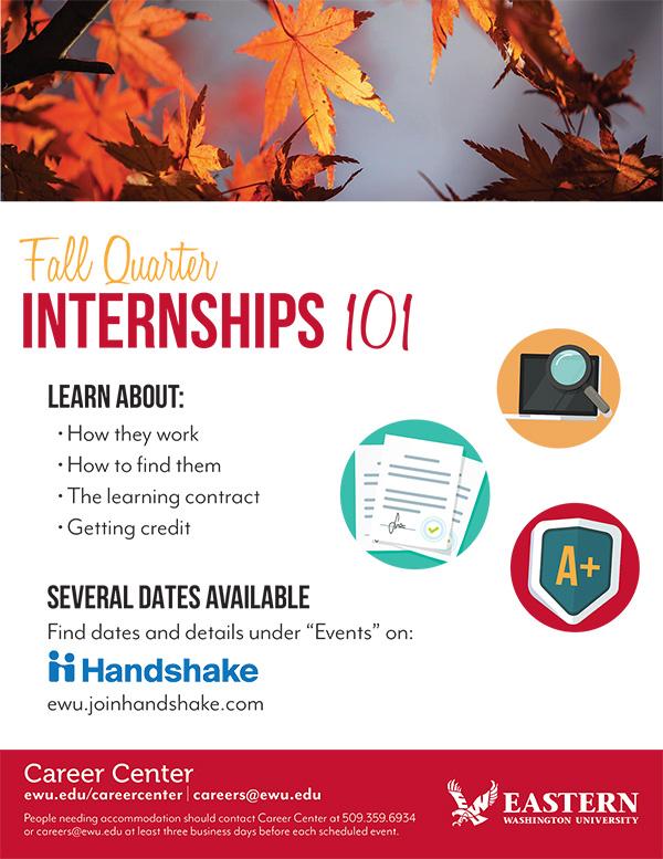 Fall Internships 101