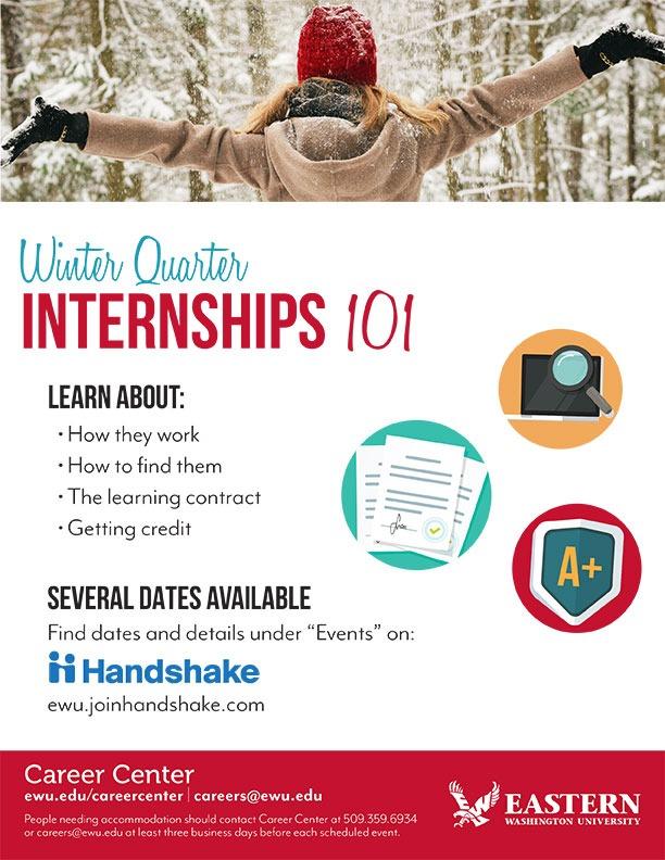 Winter Internships 101