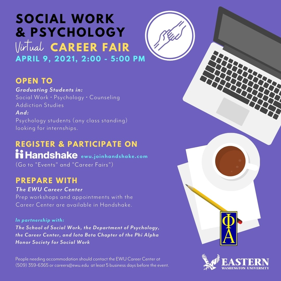 SW/Psych career fair