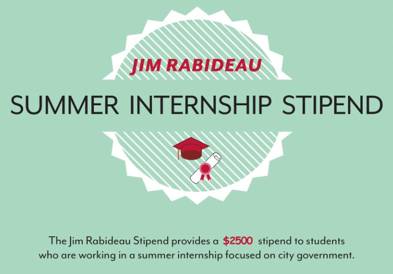 Jim Rabideau Internship Stipend