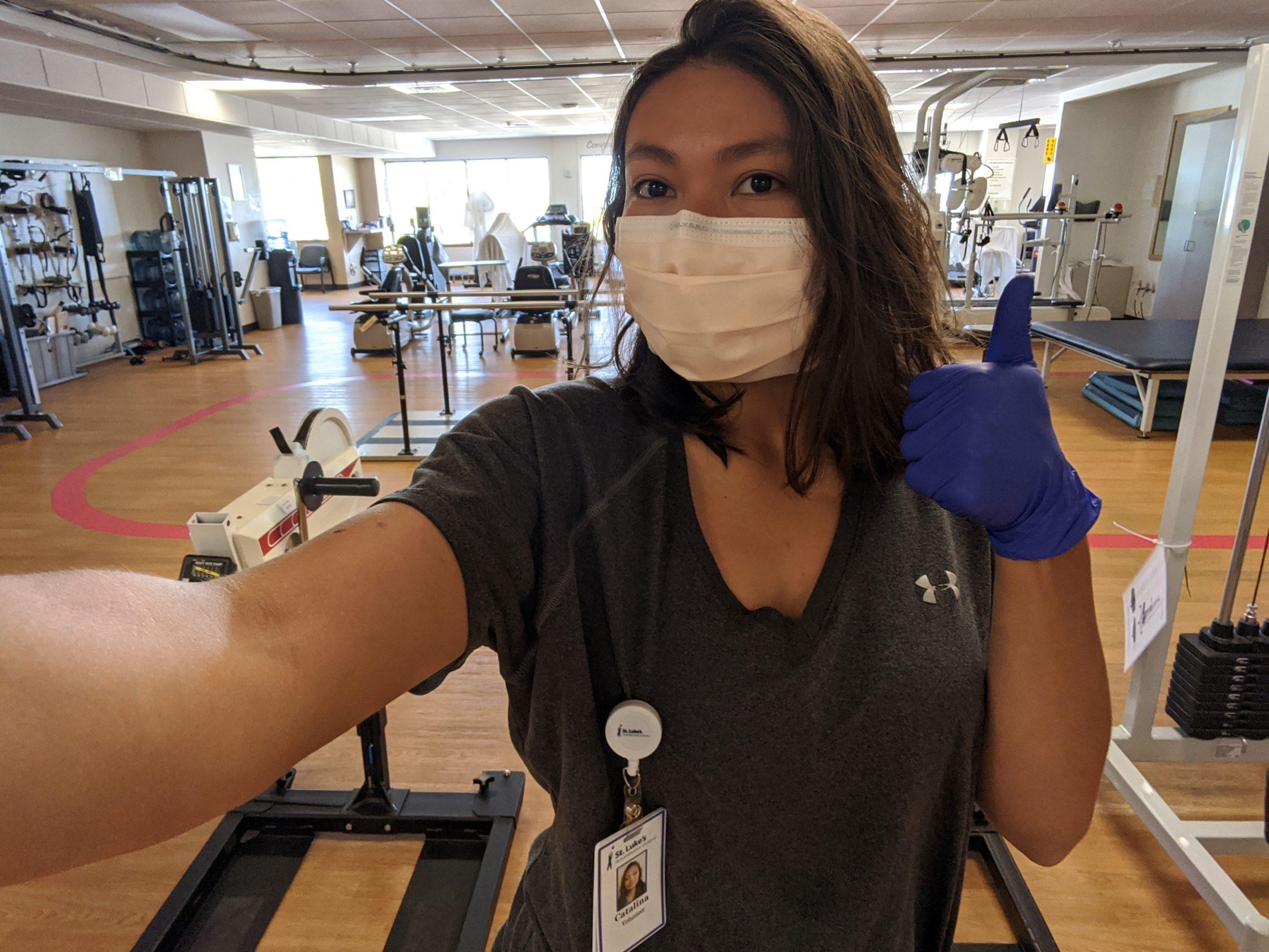 C. Salazar, Exercise Science, St. Luke's Rehabilitation Center