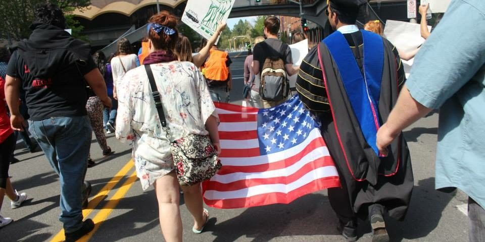 Immigration march 2