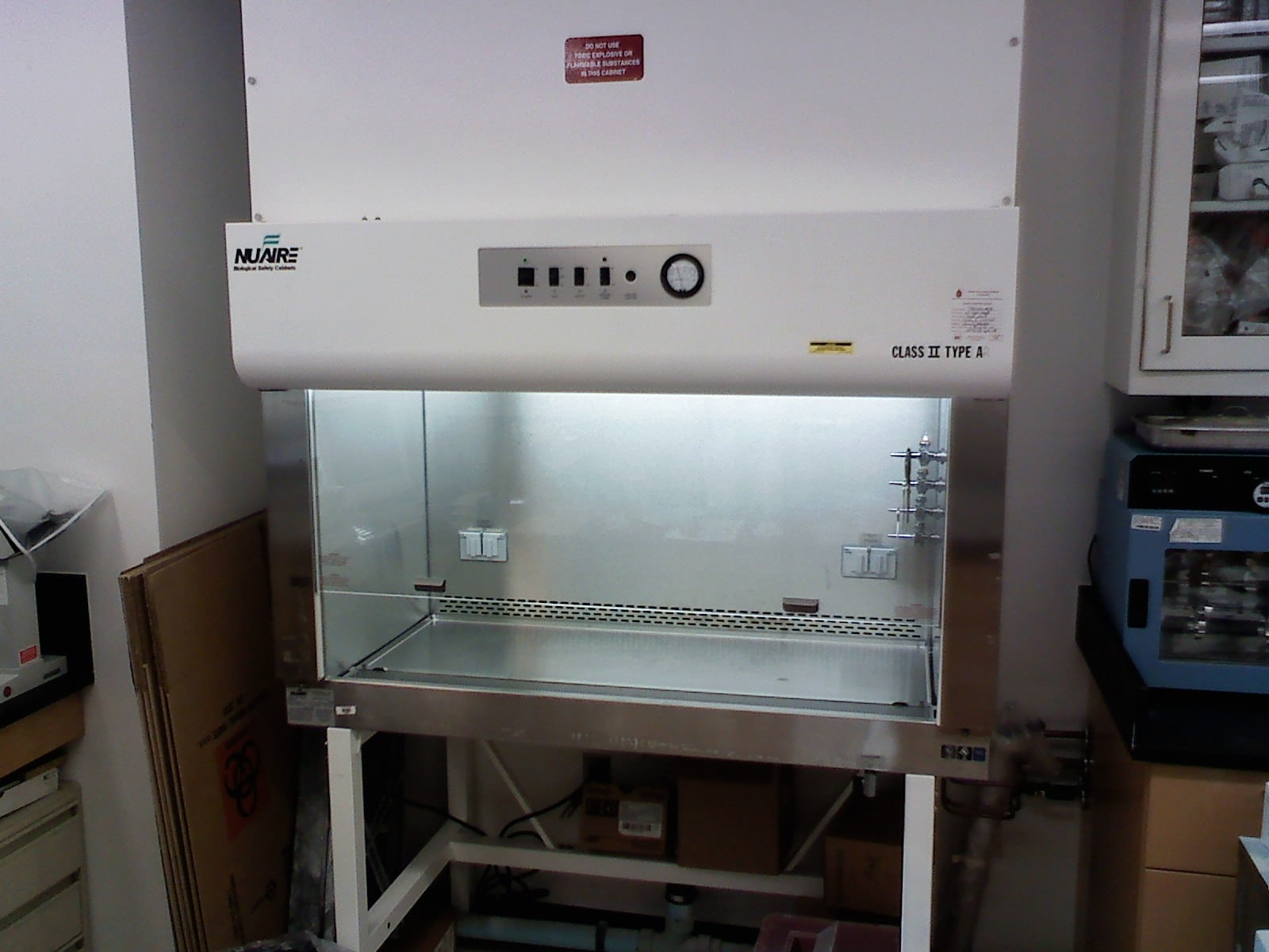 biological safety cabinet Class II Type A