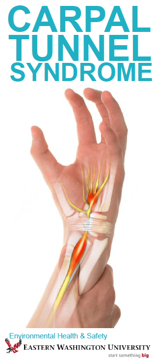 Cover for Carpal Tunnel Syndrome brochure