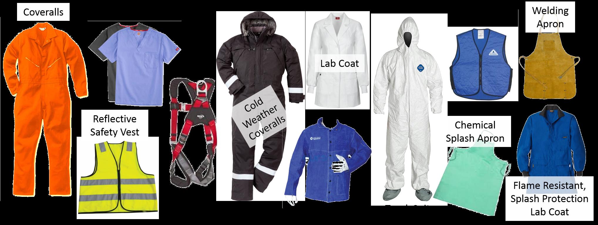 more torso PPE