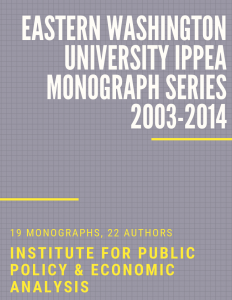 Monograph Series Cover