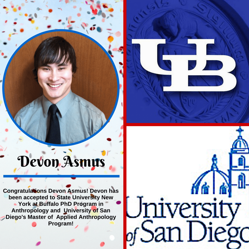 Congratulations Devon