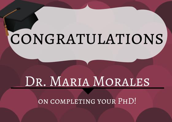 Dr.  Maria Morales