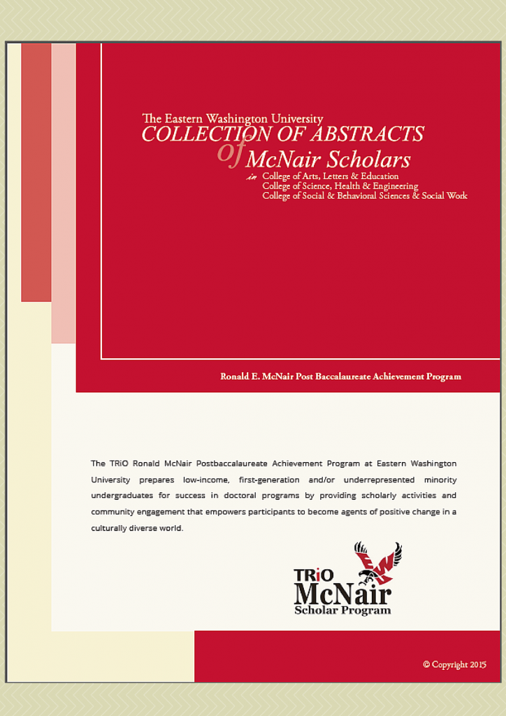 mcnair schoalr abstract cover
