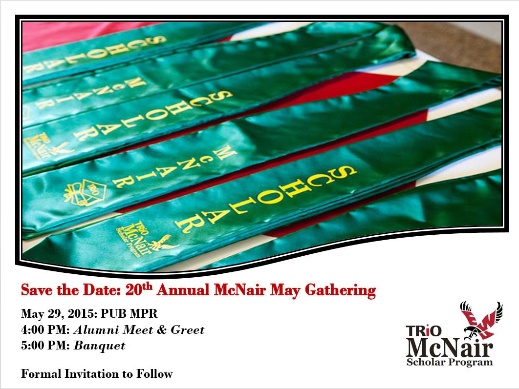 may gathering save the date