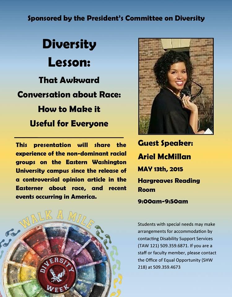 airel diversity week