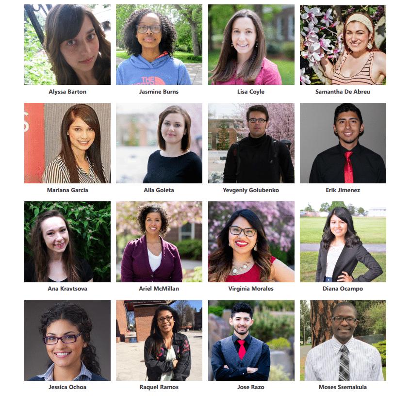 mcnair scholars 20152016