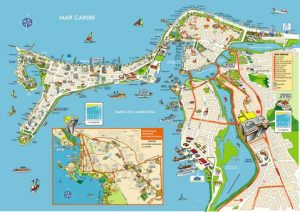 Mapa-turstico-de-Cartagena
