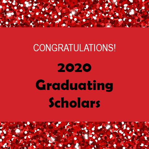 2020 Graduating Scholars Header