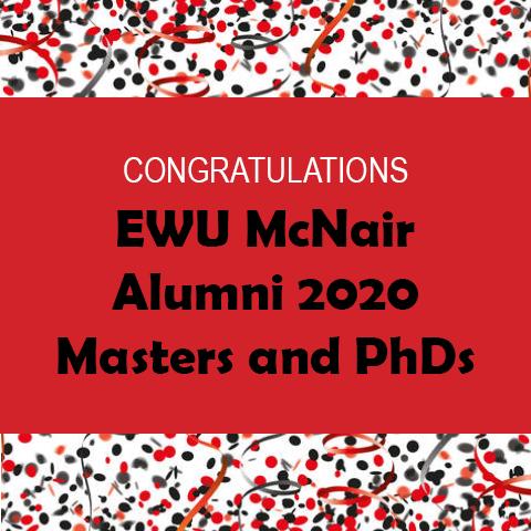 2020 Alumni Masters PhDs Header