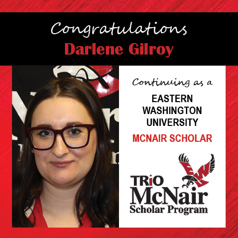 Darlene Gilroy McNair Continuing Scholar Announcements 2020