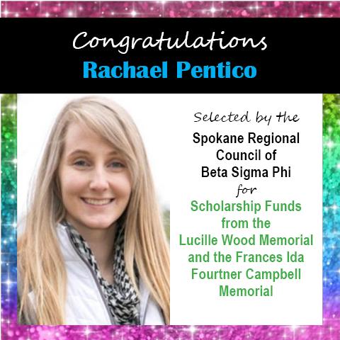 Rachael Pentico Scholarship Announcements 2020