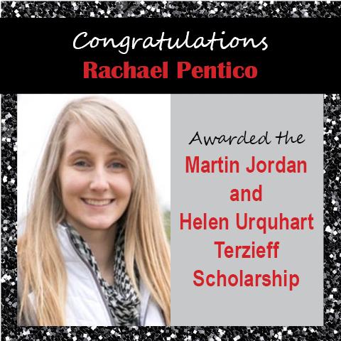 Rachael Pentico Scholarship Announcements 2020 2nd