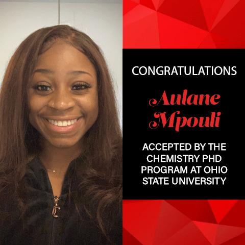 Aulane Mpouli Graduate School Acceptances 2021 Ohio State