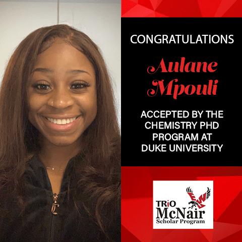 Aulane Mpouli Graduate School Acceptances 2021 Duke