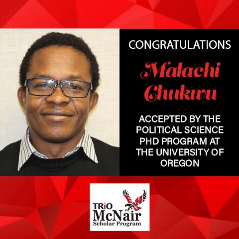 Malachi Chukwu Graduate School Acceptances 2021 UO