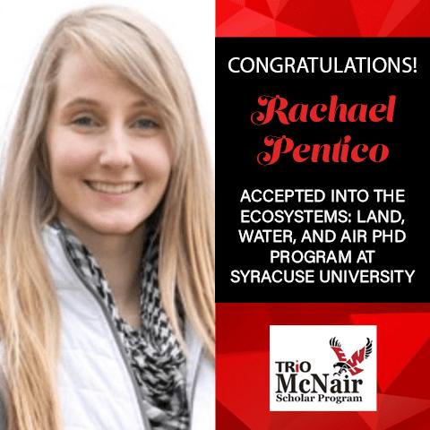 Rachael Pentico Graduate School Acceptances 2021 SY