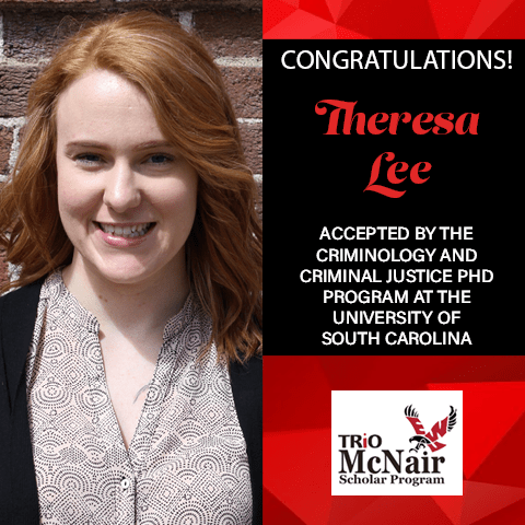 Theresa Lee Graduate School Acceptances 2021 SC