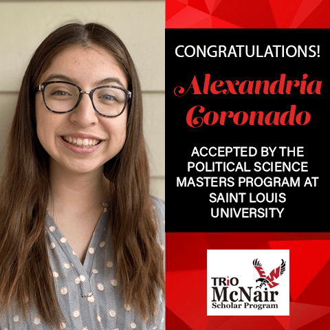 Alexandria Coronado Graduate School Acceptances 2021 SL