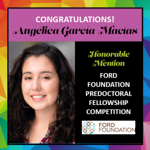 Angelica Garcia Macias Ford Foundation HM
