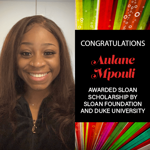 Aulane Mpouli Sloan Scholarship Award 2021