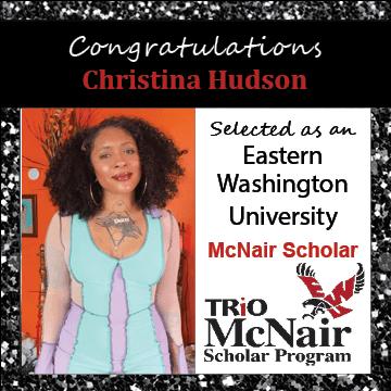Christina Hudson McNair Scholar Announcements 2021