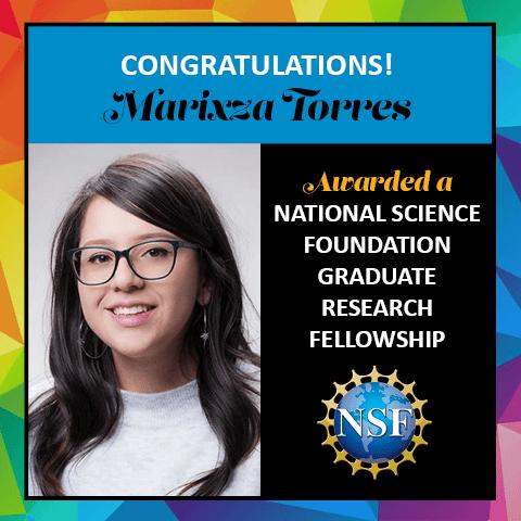 Marixza Torres NSF Award 2021