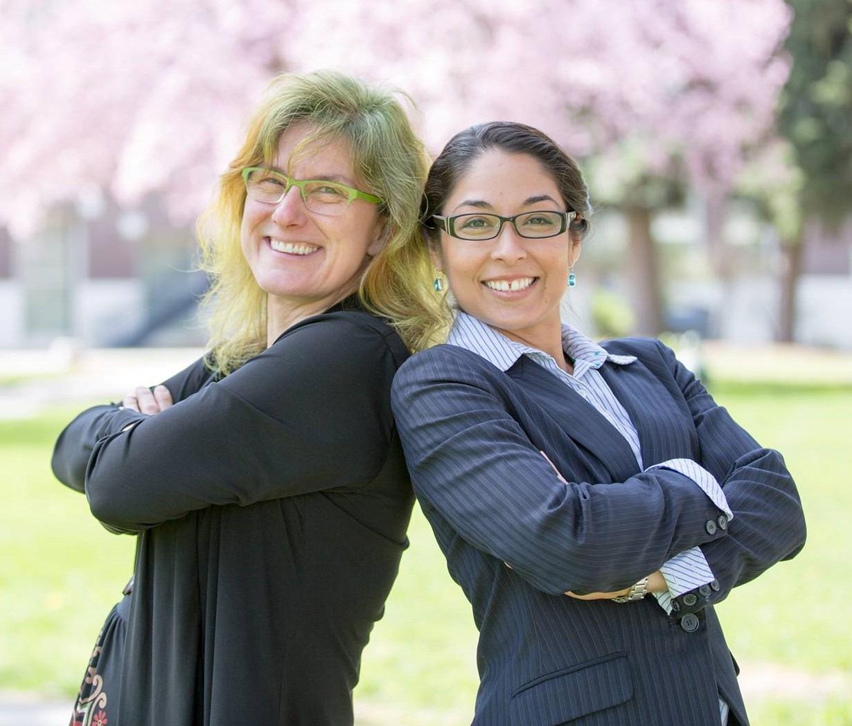 McNair Assistant Director Cynthia Dukich and Outgoing McNair Director Dra. Christina Torres García