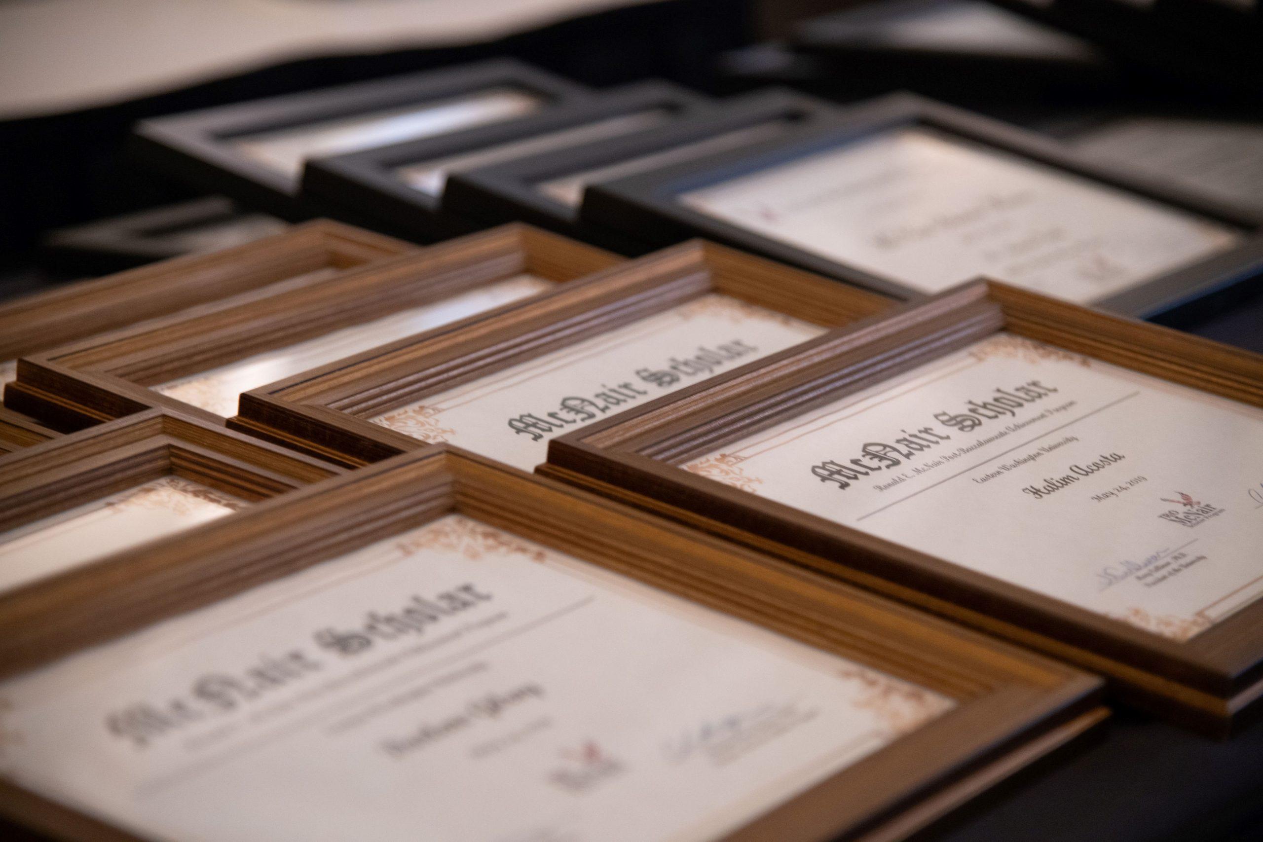 McNair Certificates