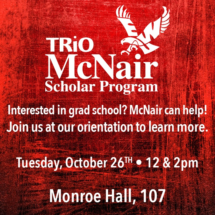 Interested in grad school? McNair can help!