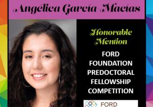 Angelica Garcia Macias Ford Foundation HM