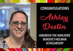 EWU McNair Scholar Ashley Destin Awarded Marjorie Benedict-Holman Scholarship