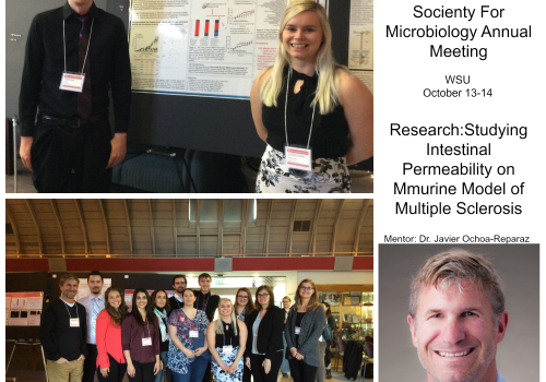 McNair Scholar Christina Ramelow presents at ASMNW
