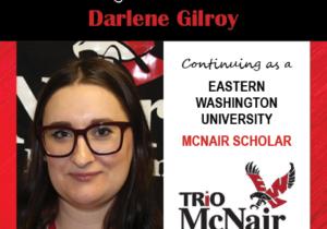 Darlene Gilroy McNair Continuing Scholar Announcements 2020