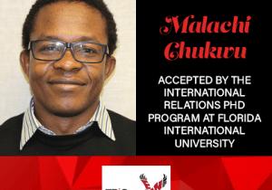 Malachi Chukwu Graduate School Acceptances 2021 FIU