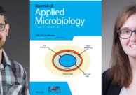 EWU McNair Scholars Marcos Monteiro and Laurisa Ankley are published with Mentor Dr. Andrea Castillo in the Journal of Applied Microbiology