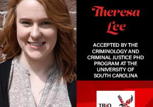 Theresa Lee Graduate School Acceptances 2021 SC