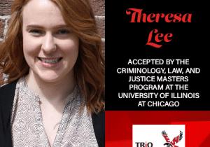Theresa Lee Graduate School Acceptances 2021 UIC