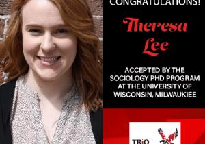 Theresa Lee Graduate School Acceptances 2021 WI