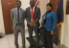 Abdu Mohammed Visiting Congressional Reps