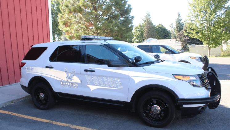 EWU Police patrol car
